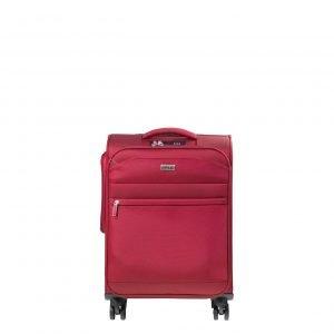 Jump Toledo 2.0 4 Wheel Suitcase 55 red Zachte koffer