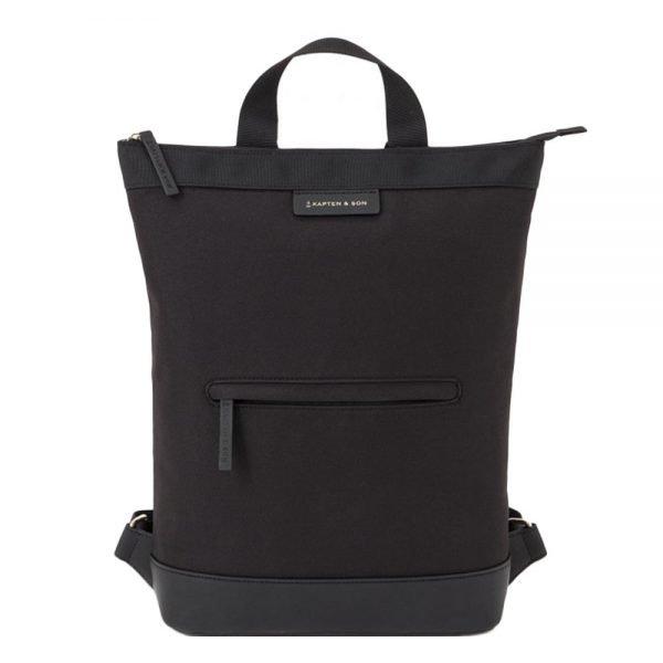 Kapten & Son Umea Backpack all black backpack