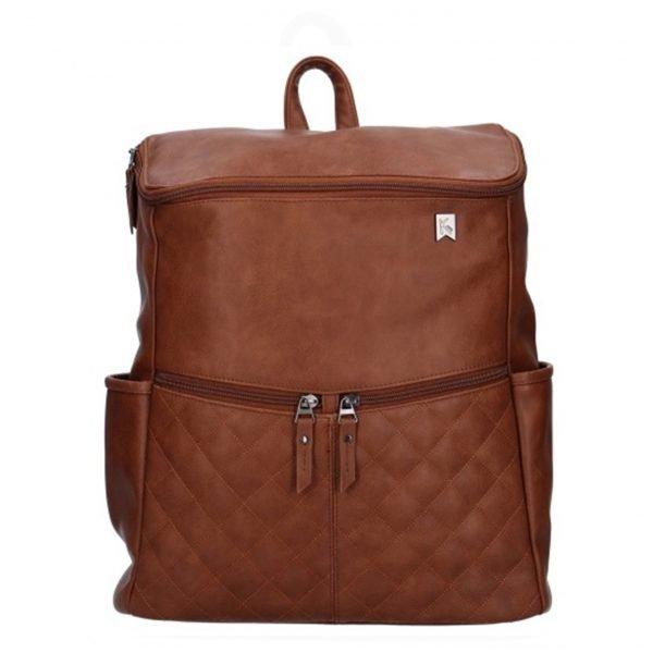 Kidzroom Go Out Diaper Backpack brown Damestas