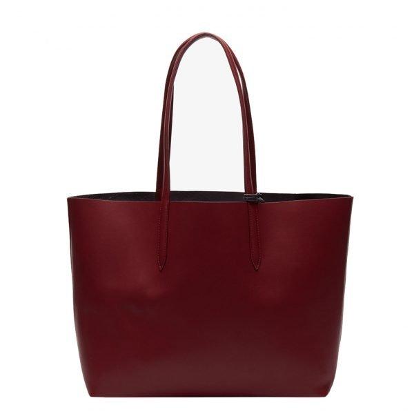 Lacoste Ladies Shopping Bag rhubarb Damestas
