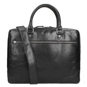 Leonhard Heyden Cambridge 1 Compartment Briefcase S black