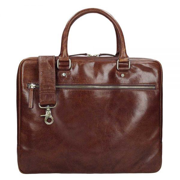 Leonhard Heyden Cambridge 1 Compartment Briefcase S medium brown