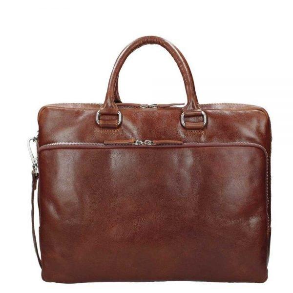 Leonhard Heyden Cambridge Briefcase L medium brown