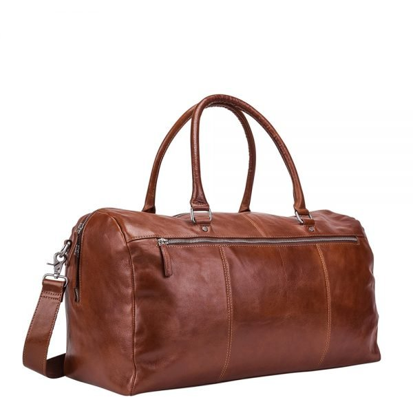 Leonhard Heyden Cambridge Travel Bag cognac Herentas