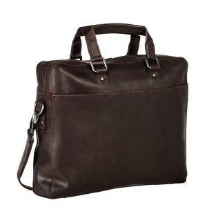 Leonhard Heyden Dakota Briefcase 1 Compartment black
