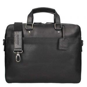 Leonhard Heyden Dakota Briefcase 1 Compartment black2