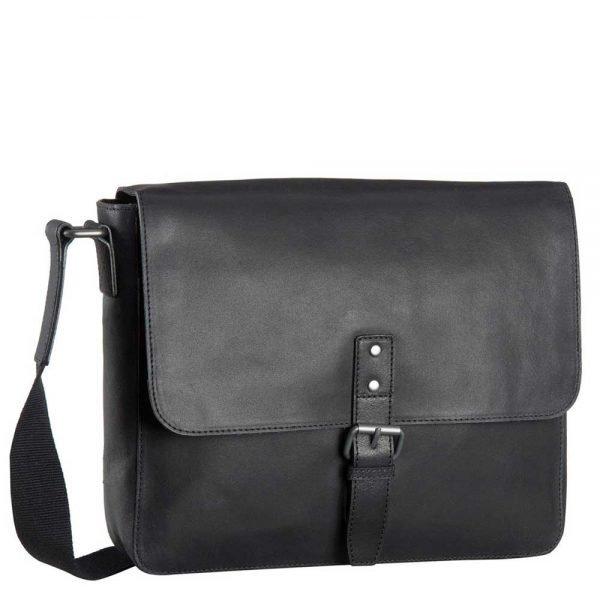 Leonhard Heyden Dakota Messenger Bag M black