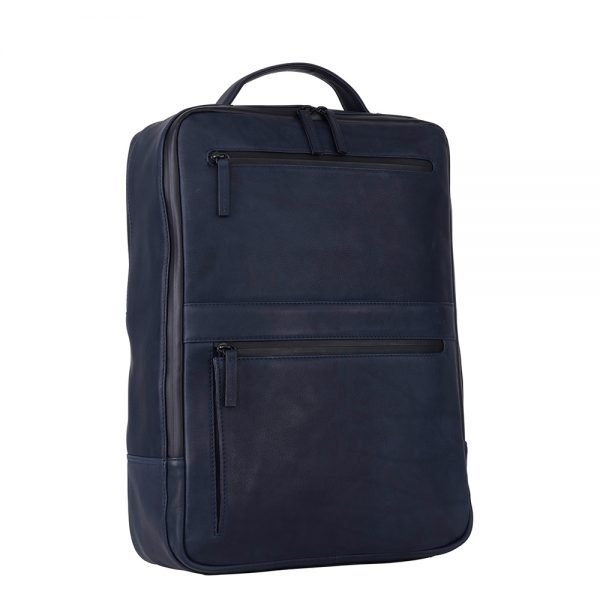 Leonhard Heyden Den Haag Backpack blue backpack