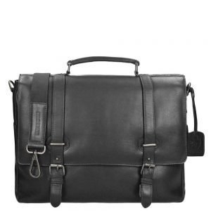 Leonhard Heyden Roma Briefcase 2 Compartments black