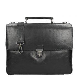 Leonhard Heyden Roma Briefcase 2 Compartments blackII