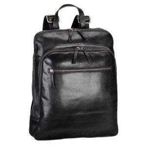 Leonhard Heyden Roma Business Backpack black backpack