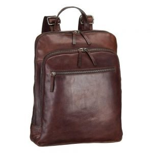 Leonhard Heyden Roma Business Backpack brown backpack