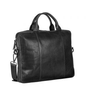 Leonhard Heyden Roma Slim Zipped Briefcase 1 Compartment black