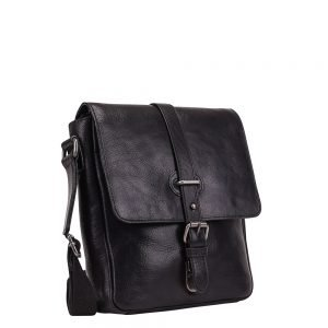 Leonhard Heyden Roma Tablet Shoulder Bag black Herentas