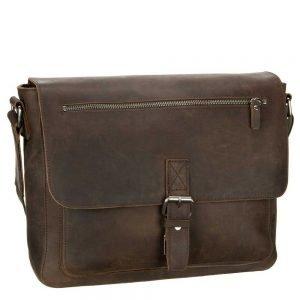 Leonhard Heyden Salisbury Messenger Bag M brown