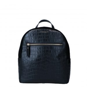 LouLou Essentiels Classy Croc Backpack black backpack