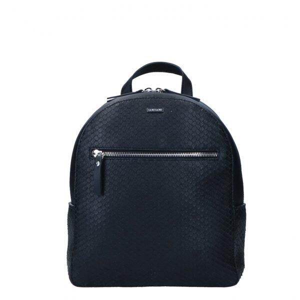 LouLou Essentiels Scales Backpack black backpack