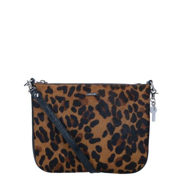 LouLou Essentiels Wild Bag leopard II Damestas