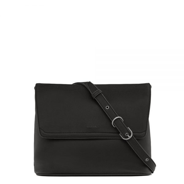 Matt & Nat Vintage Reiti Satchel black Damestas
