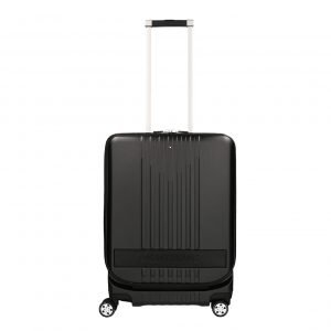 Montblanc MY4810 Trolley Cabin with Pocket black Harde Koffer