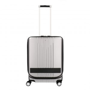 Montblanc MY4810 Trolley Cabin with Pocket silver Harde Koffer