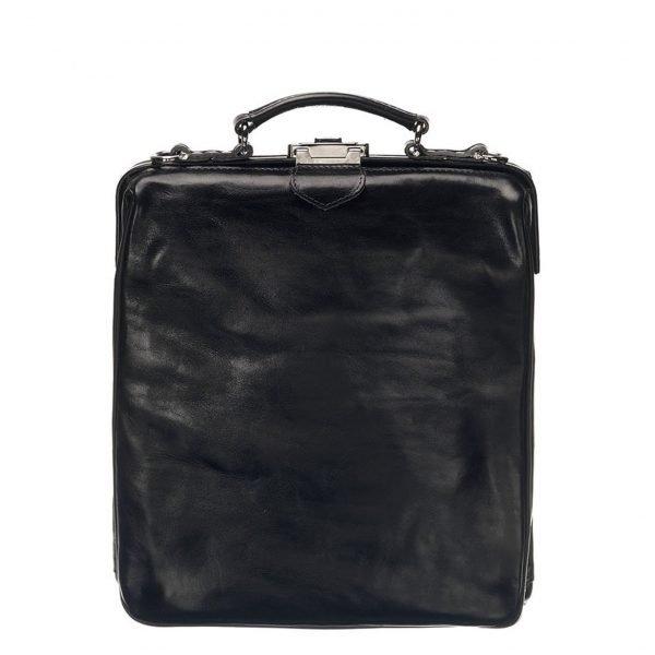 Mutsaers On The Bag Leather Backpack black backpack