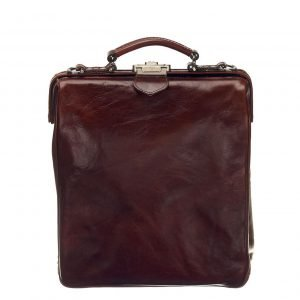 Mutsaers On The Bag Leather Backpack donkerbruin backpack