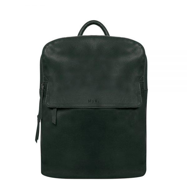 MyK. Explore Bag emerald green backpack