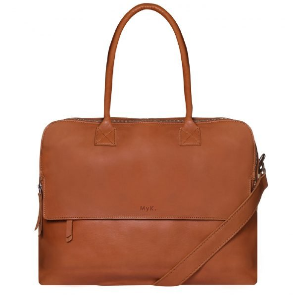 MyK. Focus Bag 15'' caramel