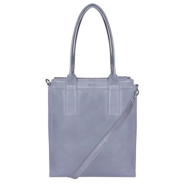 MyK. Lotus Bag silvergrey
