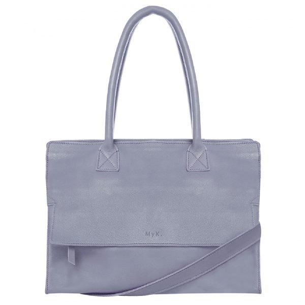 MyK. Mustsee Bag silvergrey Damestas