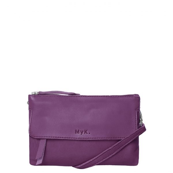 MyK. Wannahave Bag plum Damestas