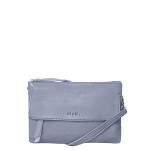 MyK. Wannahave Bag silvergrey Damestas