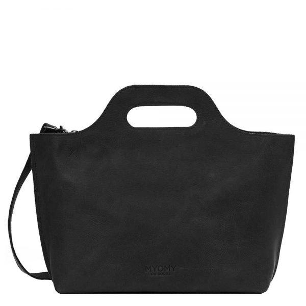 Myomy Carry Bag Handbag hunter off black Damestas