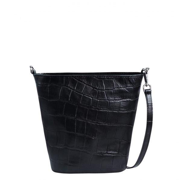 Myomy My Bucket Bag Mini Croco black Damestas
