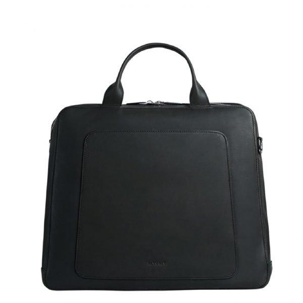 Myomy My Locker Bag Business hunter off black Aktetas