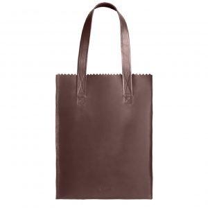 Myomy My Paper Bag Long Handle Zip aubergine Damestas