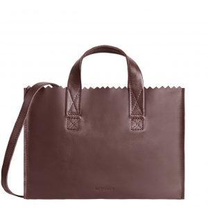 Myomy My Paper Bag Mini Handbag Cross-Body aubergine