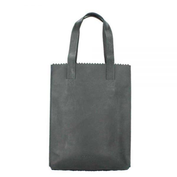 Myomy Paper Bag Long Handle Zip hunter off black Damestas