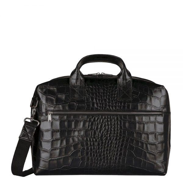 Myomy Philip Bag Businessbag croco black