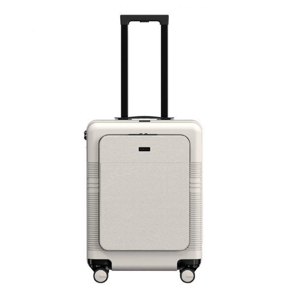 NORTVI Front Pocket 39 L sand white Harde Koffer