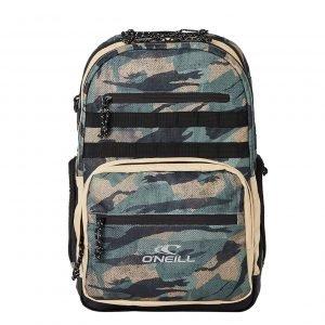 O'Neill President Backpack green aop/black backpack