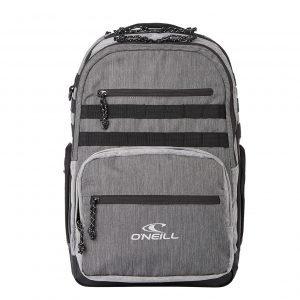 O'Neill President Backpack mid grey melee backpack