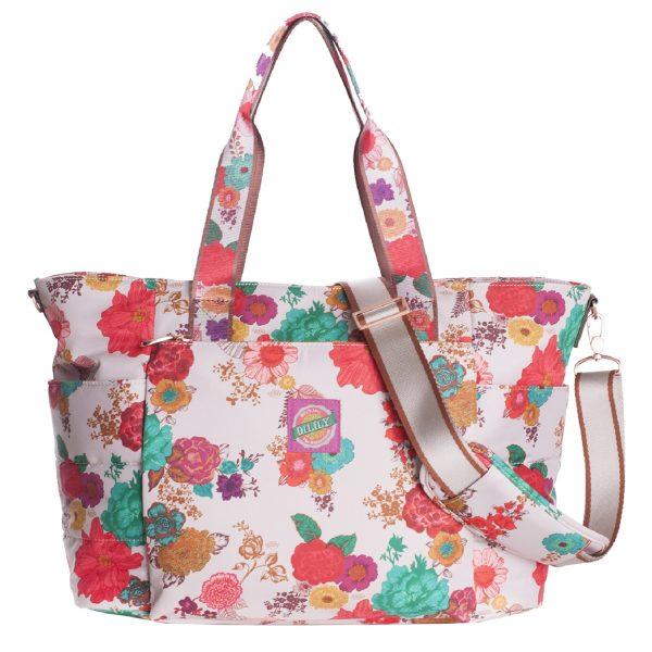 Oilily Color Splash Baby Bag winter white Luiertas