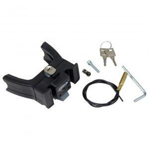 Ortlieb Mounting Set E-Bike Ultimate 6 with Lock black