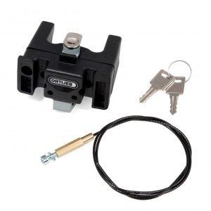 Ortlieb Mounting Set U6 with Lock black
