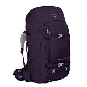 Osprey Fairview Trek 70 amulet purple backpack