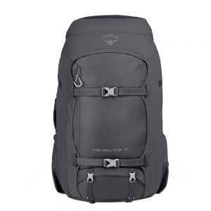 Osprey Fairview Trek 70 charcoal grey backpack
