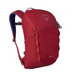 Osprey Jet 12 Backpack cosmic red backpack