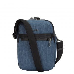 Pacsafe Metrosafe X Anti-Theft Vertical Crossbody dark denim Herentas